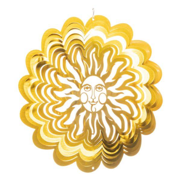 Goldene Sonne Windspiel
