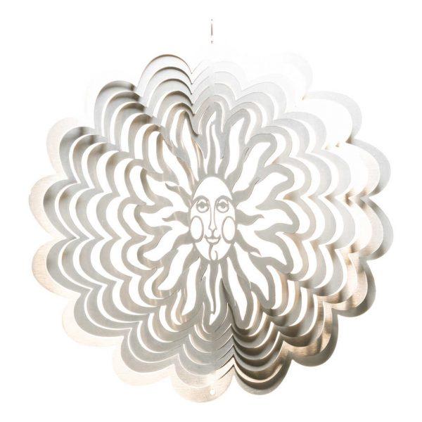 Silver sun wind spinner