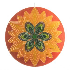 Sun flower wind spinner 30cm