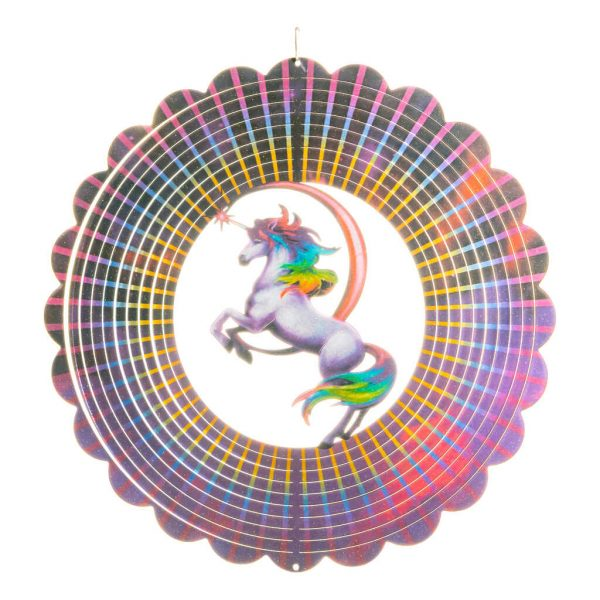Unicorn wind spinner 30cm