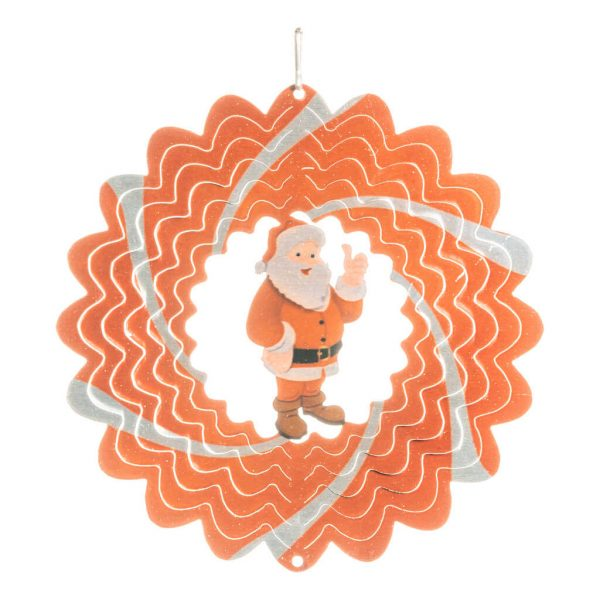 Santa wind spinner 15cm