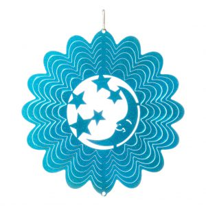 Blue moon wind spinner 15cm
