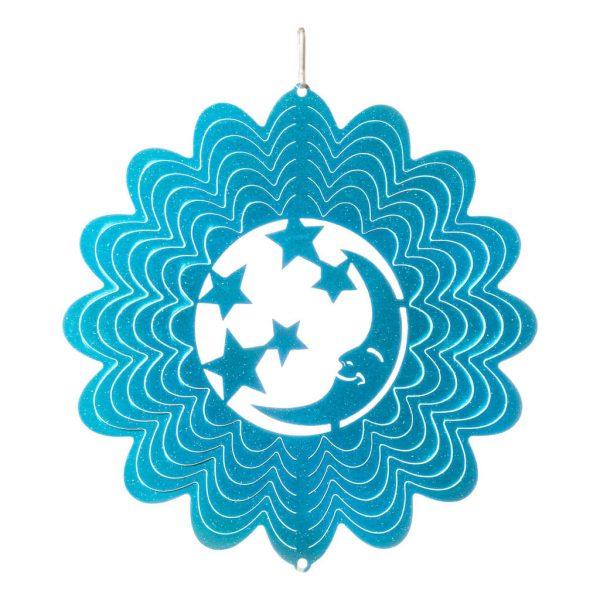 Blue moon wind spinner 15cm