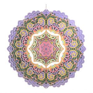 Mandala crown wind spinner 30cm
