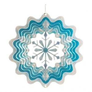Snowflake wind spinner 15cm