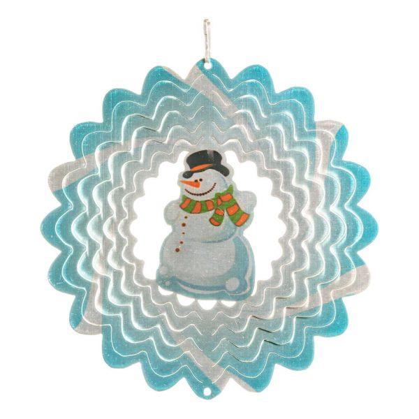Snowman wind spinner 15cm