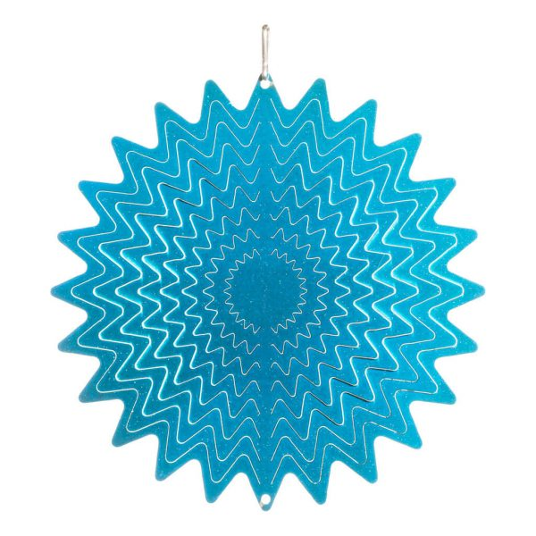 Blue star wind spinner 15cm
