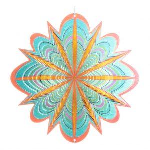 Star flower wind spinner 30cm