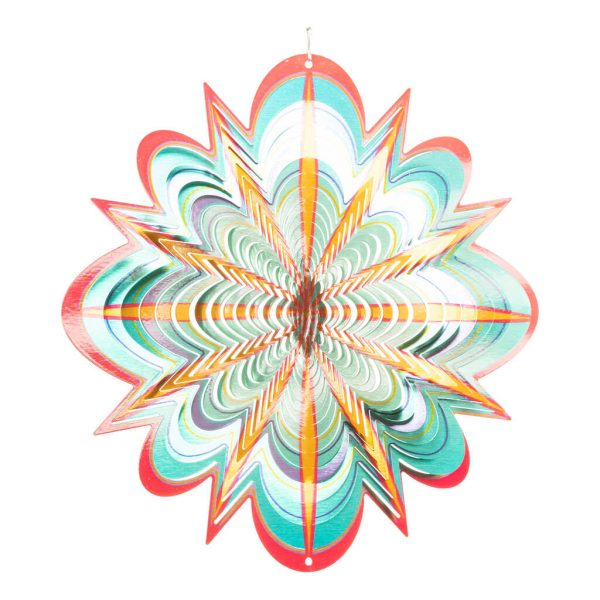 Star flower wind spinner 30cm